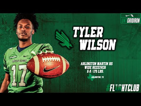 North Texas Football Signing Day 2016: WR - Tyler Wilson