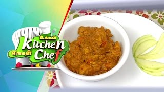 Raw Mango Chicken Curry In Ungal Kitchen Engal Chef (04/06/2015)