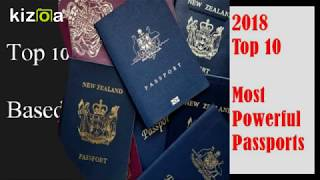 Top 10 Powerful Passports - 2018
