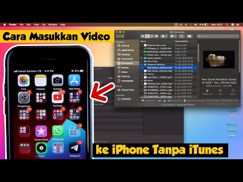 Cara Transfer File Dari PC atau Laptop ke iPhone tanpa iTunes dan Kabel Data USB. Di Video kali ini .