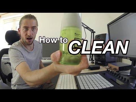How to Clean DJ/Music Production Gear