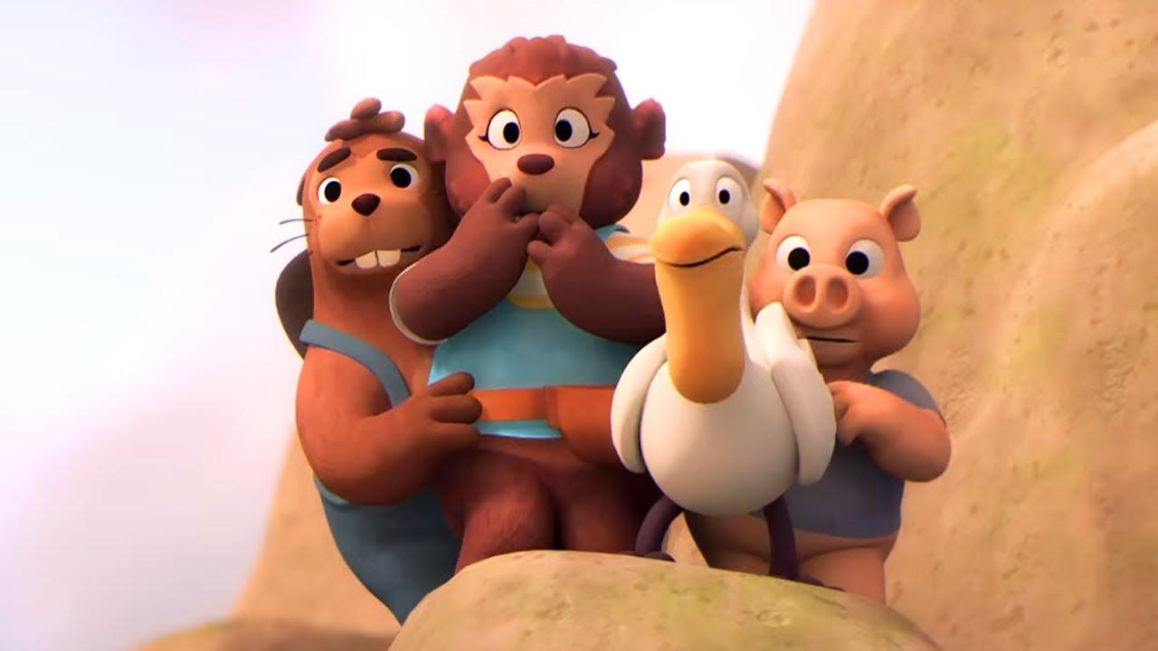 🐻 Приключения медвежонка Расмуса — Странная поляна | Новый интересный мультфильм