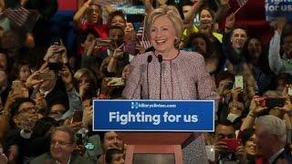 Hillary Clinton's full New York primary victory speech