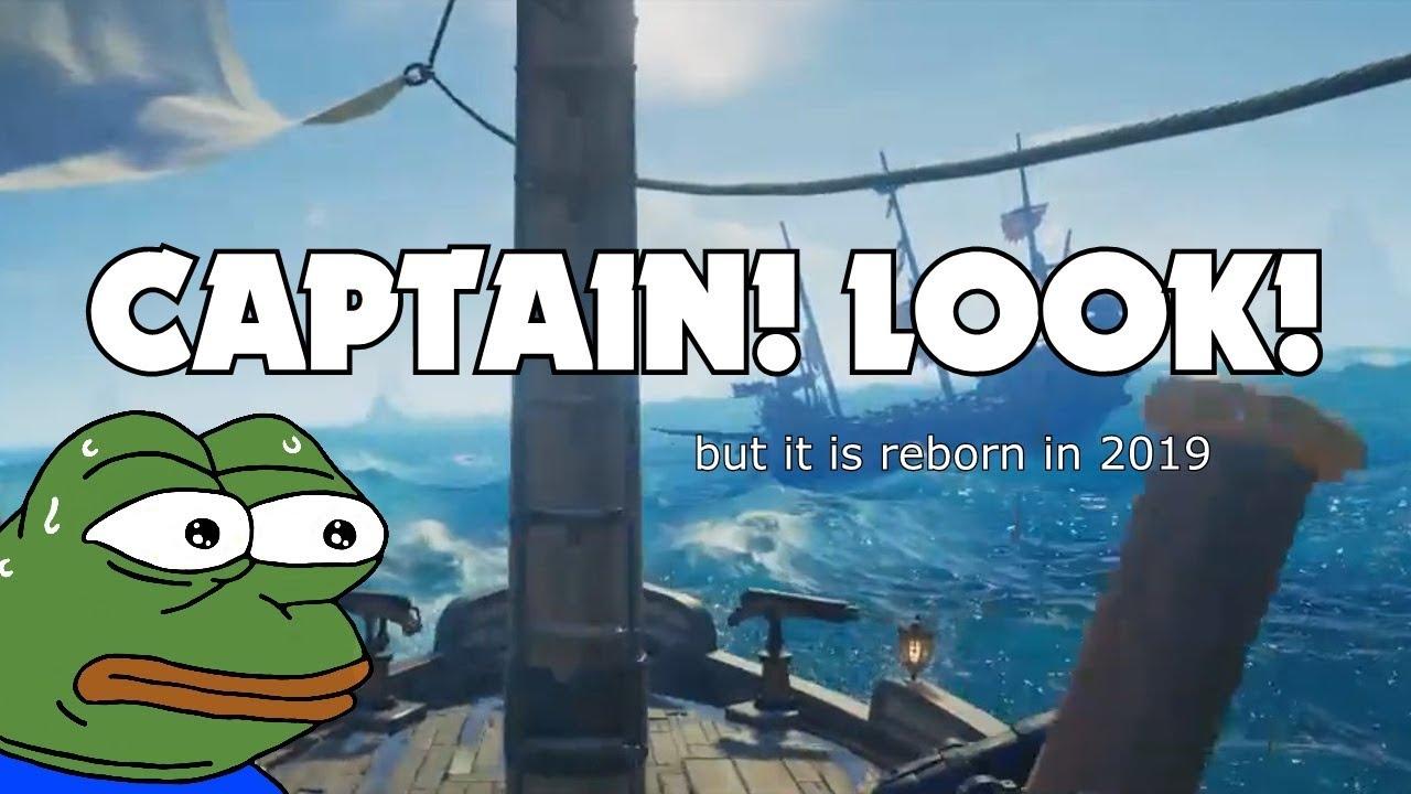 CAPTAIN LOOK MEME 2.0! - YouTube