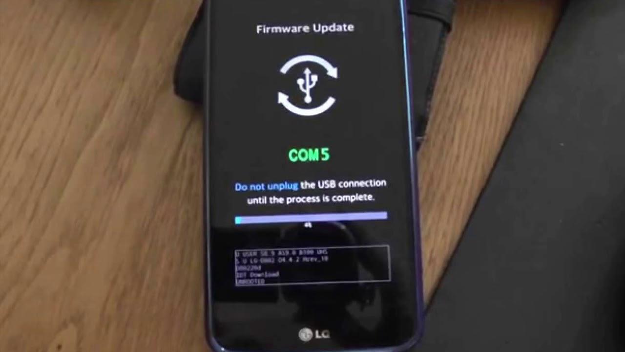 My Lg firmware Update error