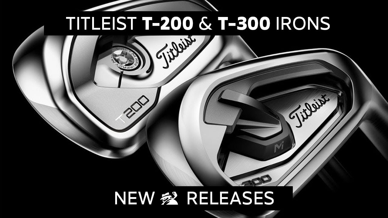 FIRST LOOK: 2019 Titleist T200 & T300 Irons