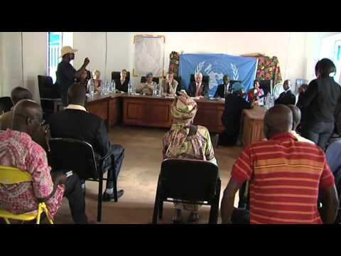 UN-USG Herve Ladsous meet Religious Leaders- Central Africa Republic