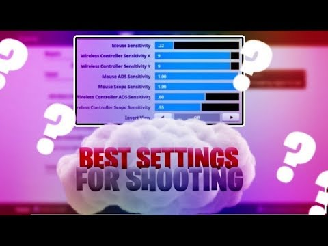 Best Fornite Settings For Aiming🔥* AIM And Land 99% Of Your Shots🔥* Shoot Like Ninja🔥* ronbenjam