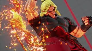 Street Fighter V AE - Lord-Problemx (Sagat) vs. BlindWarriorSven (Ken)