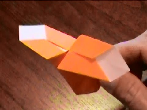 How To Make An Origami Helicopter Youtube