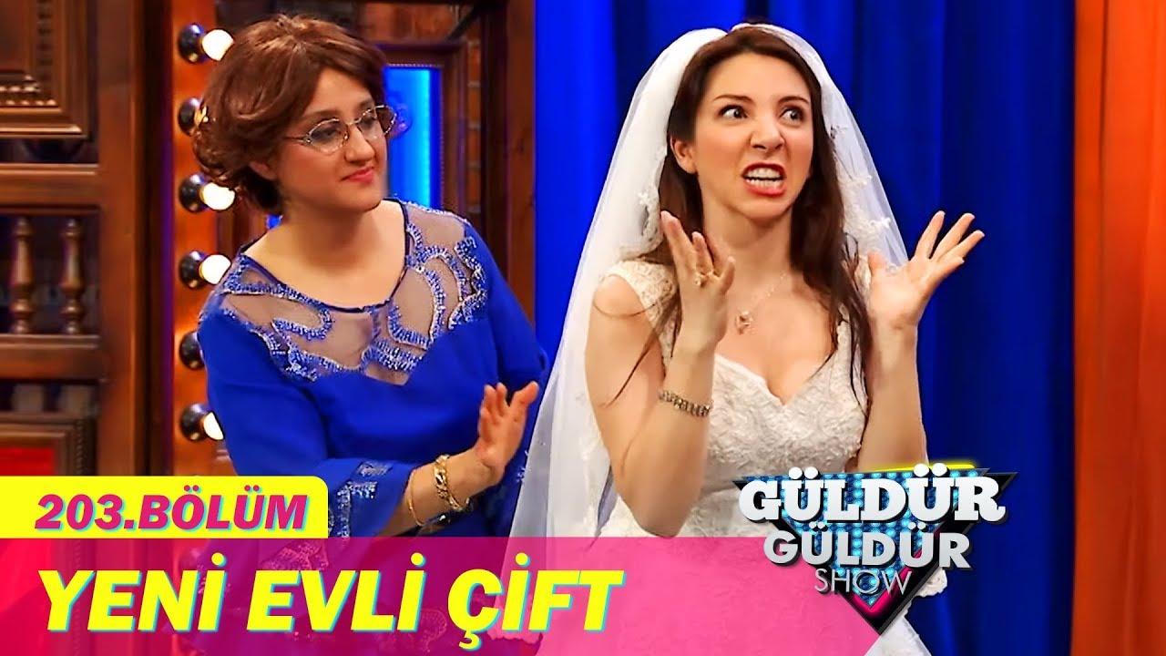 Güldür Güldür Show 203.Bölüm - Yeni Evli Çift