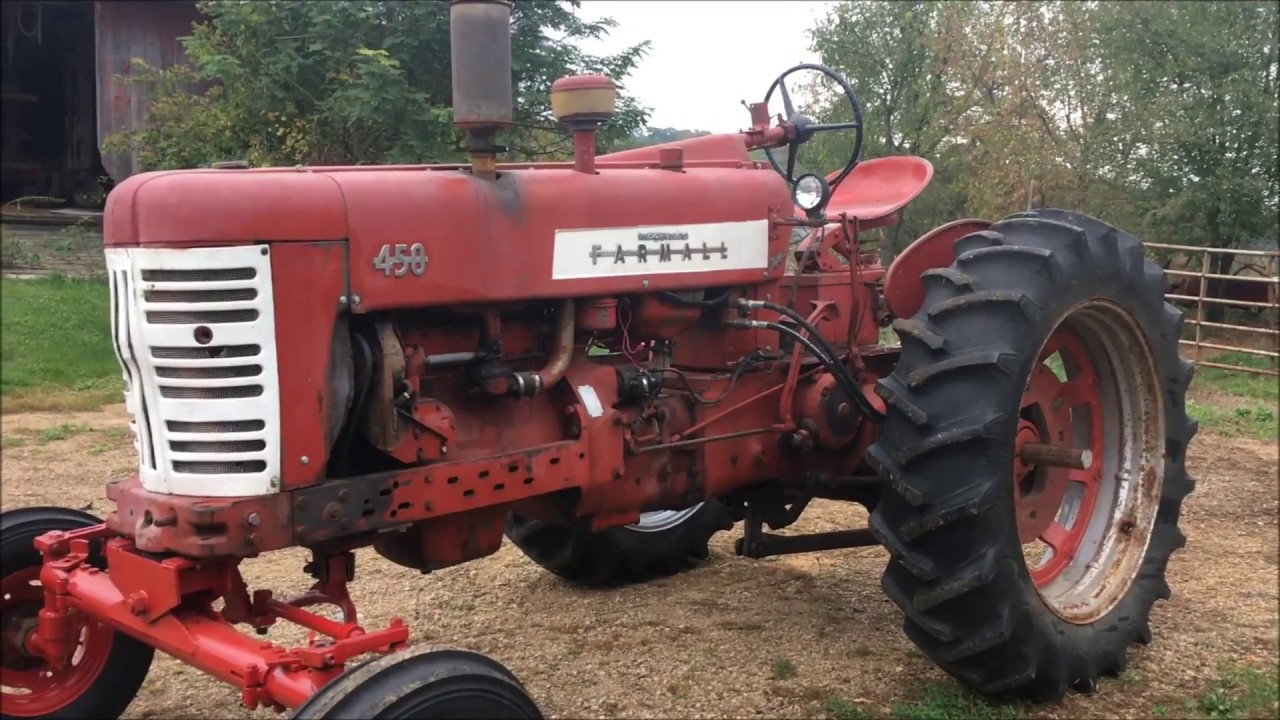 hight resolution of wide front end for farmall 450 part 2