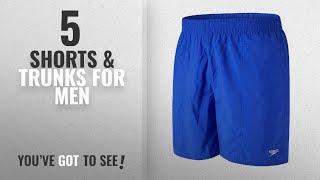 Top 10 Shorts & Trunks For Men [2018]: Speedo Men