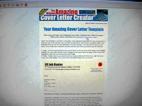 Amazing Cover Letters Review
