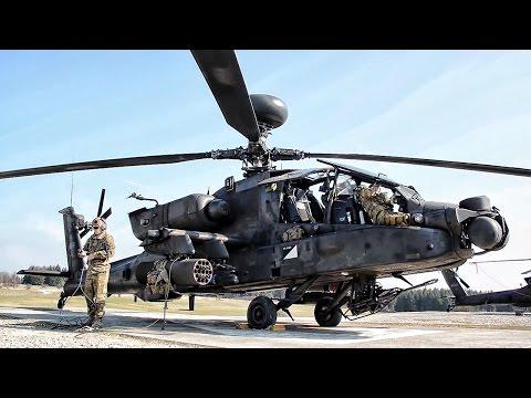 AH-64D Apache Longbow Gunnery Exercise