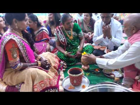 Trupti Wedding mandap muhurat January 2016 12