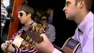 Oasis - Live Forever 1995 (Acoustic) Canada
