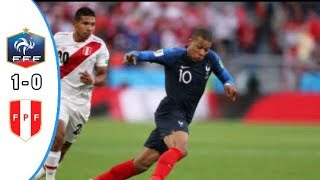 FRANCE VS PERU 1-0 : HIGHLIGHT FIFA WORLD CUP 2018