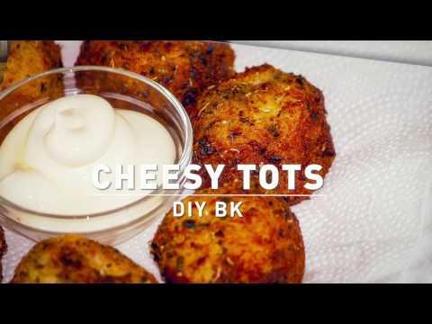 DIY BK CHEESY TOTS. Recipe cheese potatoes balls thumbnail