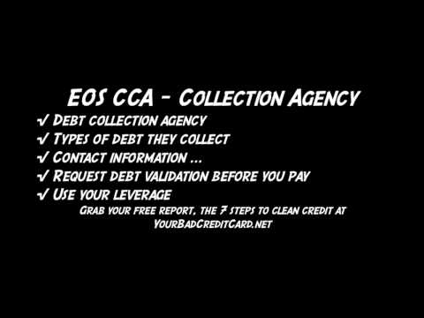 EOS CCA - Collection Agency