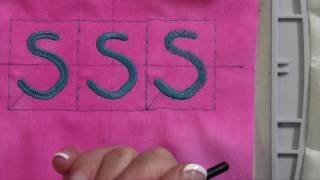 Bernina 770 111 Embroidery Stitch Density & Stitch Type