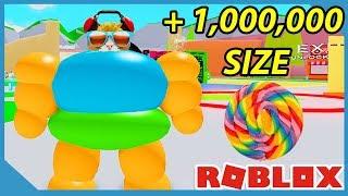 Plus de 1 000 000 de taille dans Roblox Om Nom Simulator