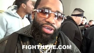 ADRIEN BRONER ON SPENCE VS PETERSON ADMITS ITS HARD TO WATCH HIS FRIENDS FIGHT