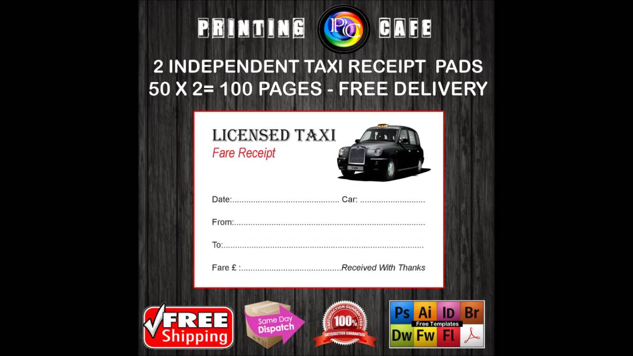 print taxi receipt online