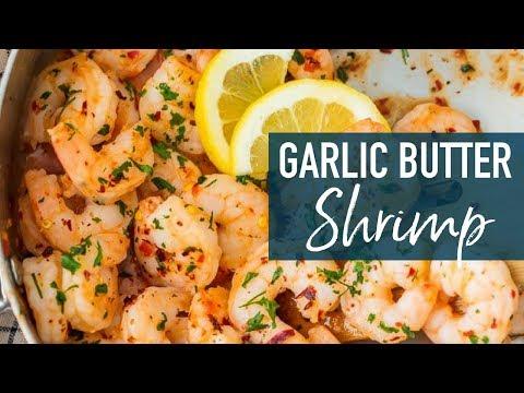 Easy Garlic Butter Shrimp Recipe