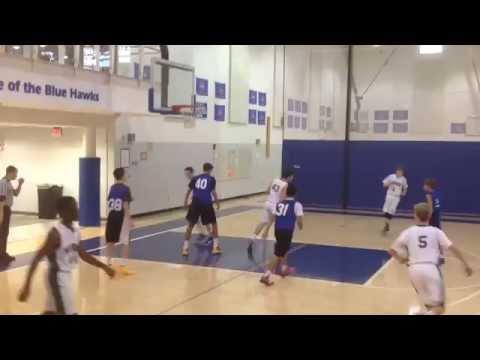 The Woods Academy vs Norwood School 12-10-14