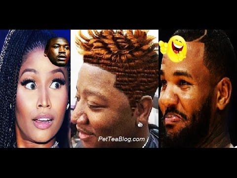 Nicki Minaj shuts The Game down for Clowning Yung Joc HAIR 😫😭😂 #LHHATL #YungJoc