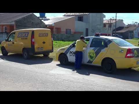 Funcionário Dos Correios é Feito Refem Durante Assalto Em Curitiba