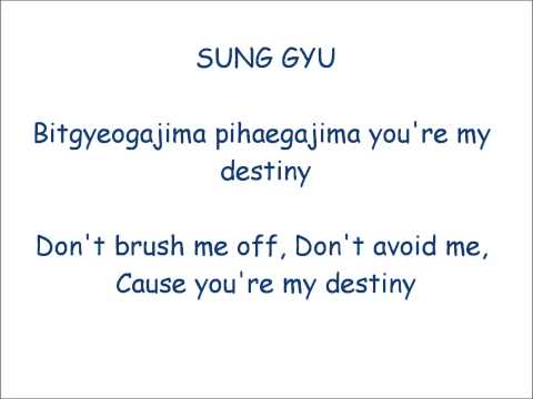 INFINITE - Destiny Lyrics (Romaji) + Eng Subs