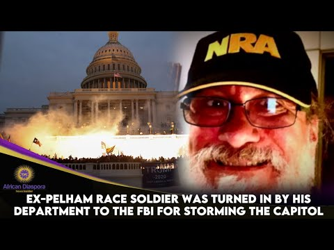 Ex-Pelham Race Soldier Was Turned In By His Department To The FBI For Storming The Capitol