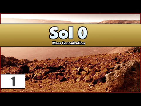 Mars Colony - Sol 0 (Gameplay / Let's Play (Ep 1)
