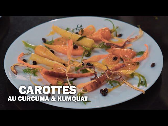 LES CAROTTES AU CURCUMA ET KUMQUAT by Éric Briffard