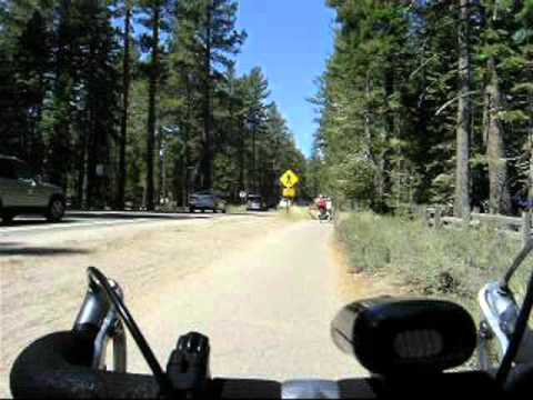 South Lake Tahoe bike ride - Y to Baldwin Beach, Labor Day weekend 2011!