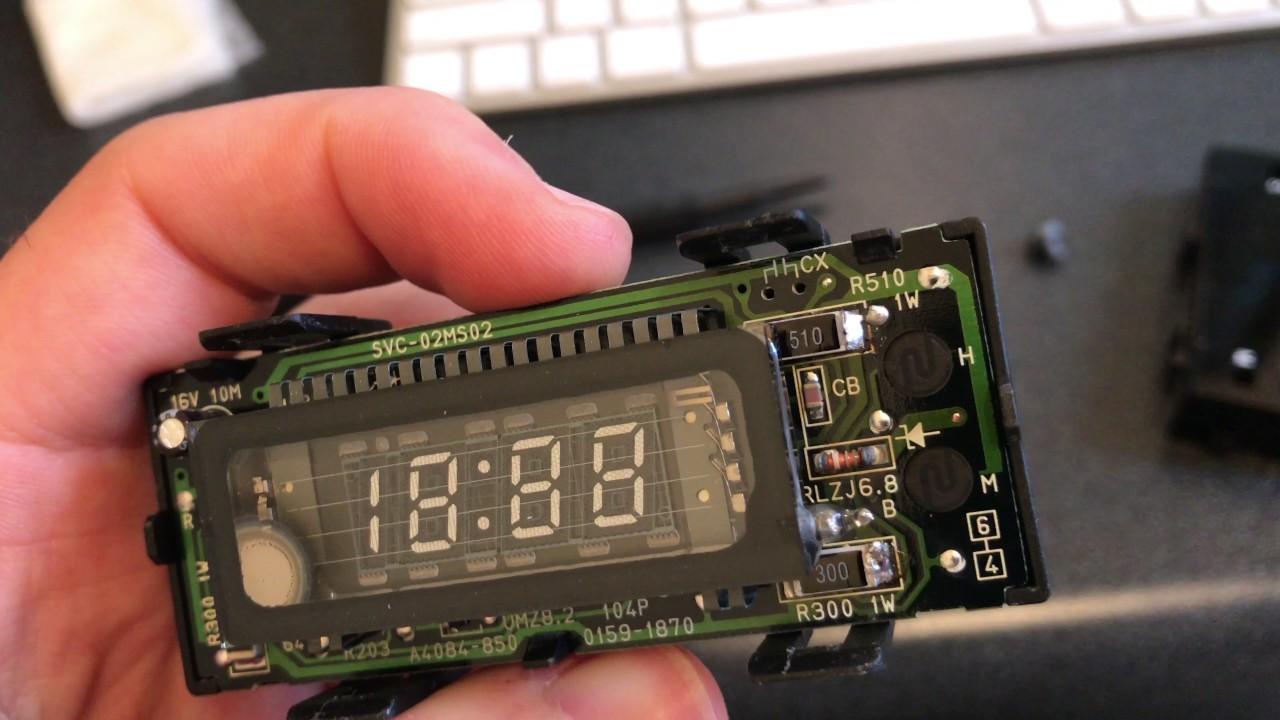 Subaru Forester Clock Fix 4k Uhd Youtube