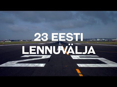 23 Eesti lennuvälja