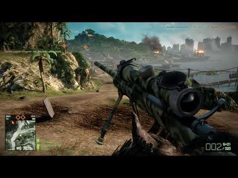 Battlefield Bad Company 2 EXPERT SNIPING!!!
