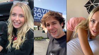 Corinna at David Dobrik's House and Showing Her New Ferrari - Vlog Squad IG Stories 61