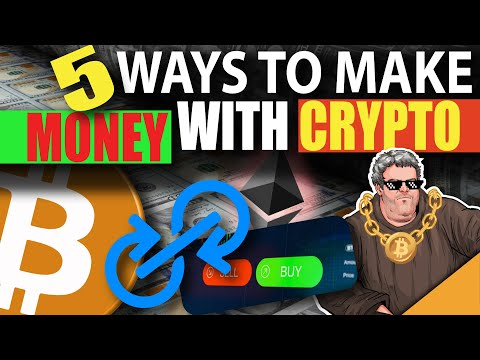 How To MAKE MONEY With Crypto (5 BEST Ways)