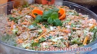 Salada Nutritiva de Abobora e Triguilho