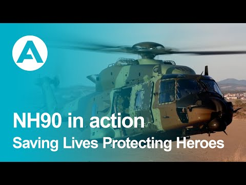 NH90 in action: Saving Lives Protecting Heroes