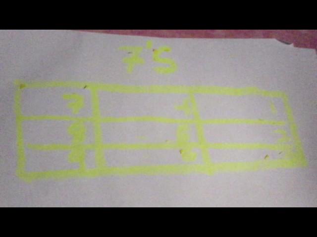 Fast memorize 7 s