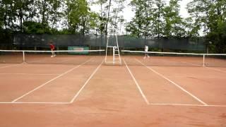турнир по теннису Новиков Дмитрий и Королёв Евгений (2)
