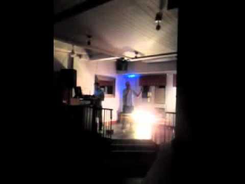 Davie singing Shine by Take That