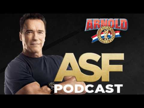 ASF Podcast Eps 001 Featured Guest: Bob Lorimer President Classic Productions/Arnold Sports Festival