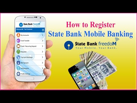How to  Register SBI Mobile Banking With Full Details | SBI FREEDOM | Hindi
