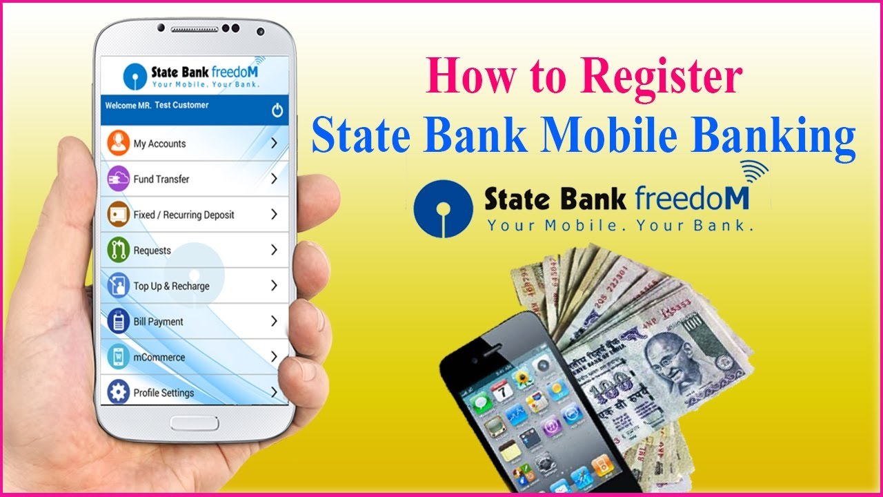 How to Register SBI Mobile Banking With Full Details | SBI FREEDOM ...
